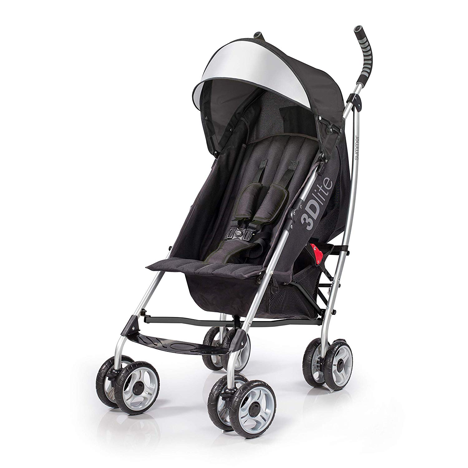 Stroller Connectors Turns Pushing Two Umbrella Strollers Into One